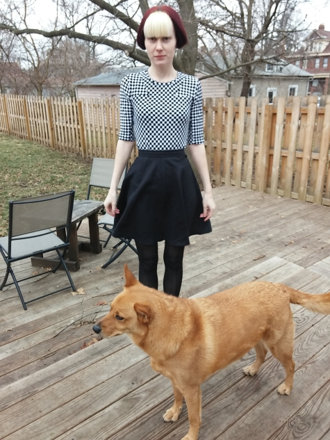 New skirt, featuring Mulder