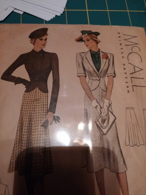 1930's jacket and skirt!!