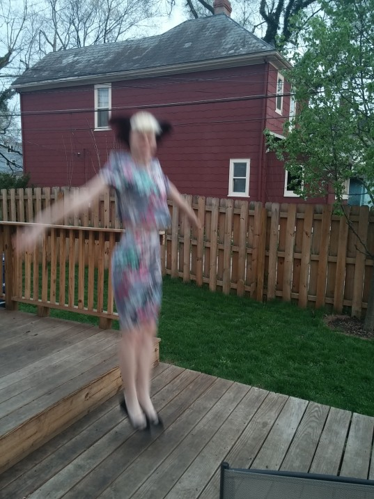 Oh, you know, just jumping off of stuff, NBD...