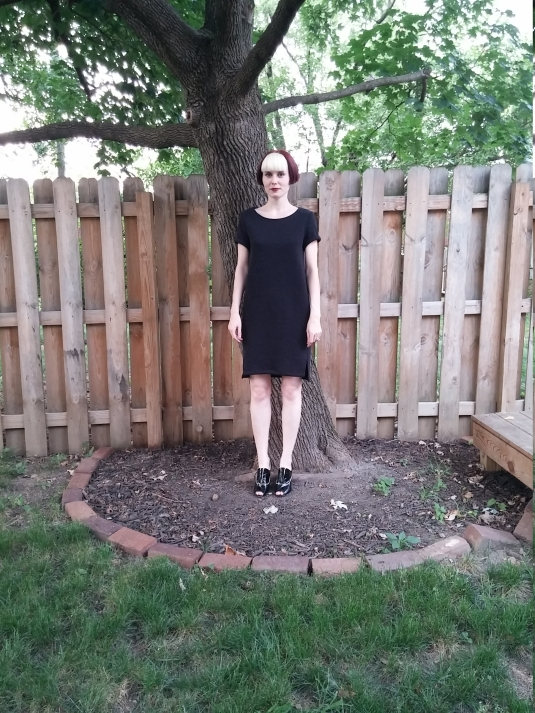 A dress and a tree