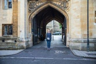 The non-tourist entrance. =(