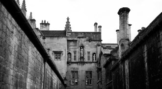 A street on our way to New College